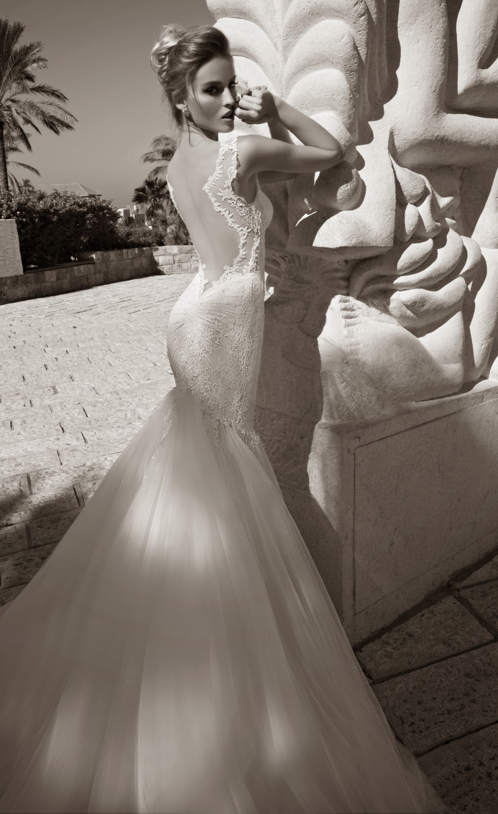 Galia Lahav mermaid wedding gown