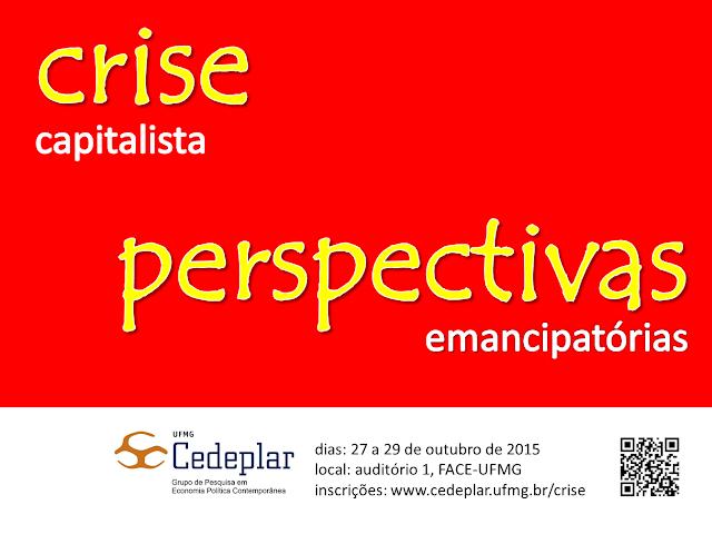 Crise capitalista e perspectivas emancipatórias