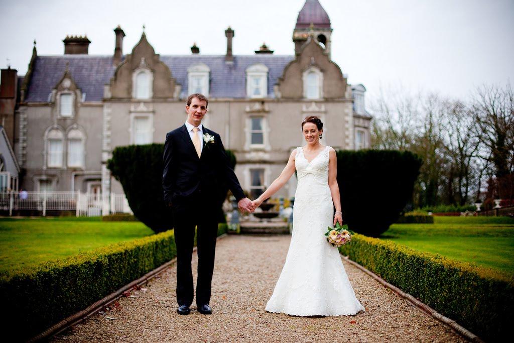 Their wedding was in Ratheniska followed by a reception at Killashee House