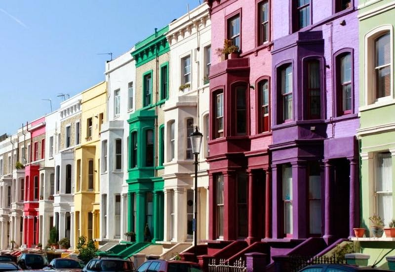 Top 10 things to do in London - Sight see in Notting Hill