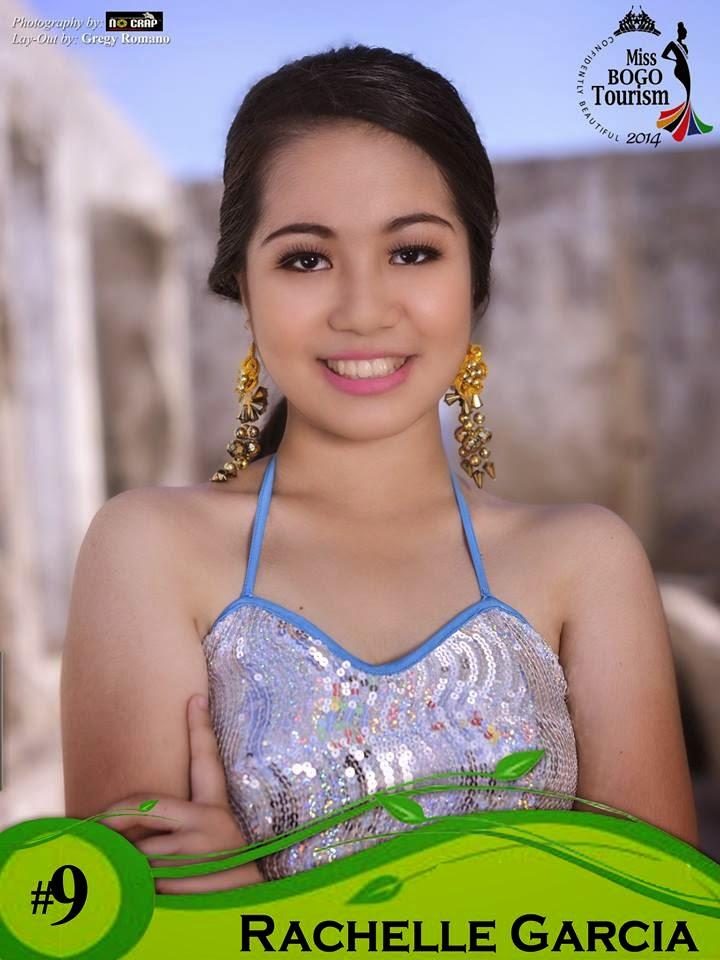 Rachelle Garcia  - Miss Bogo Tourism 2014