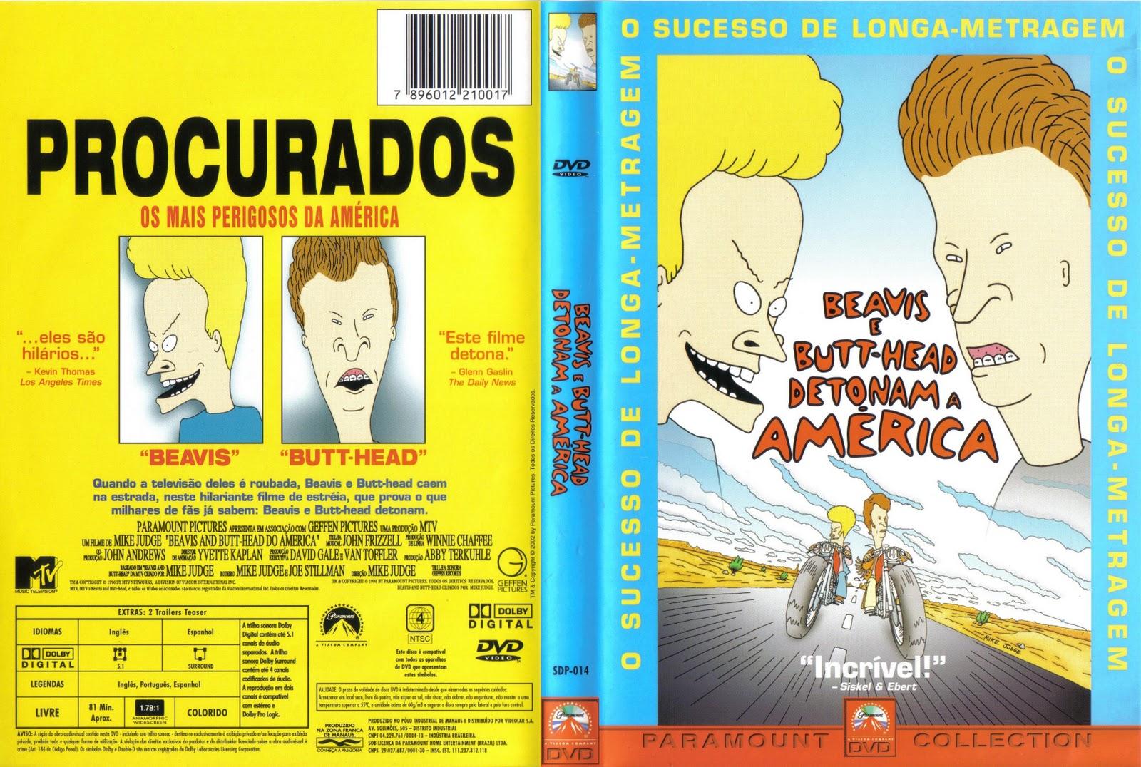 Beavis And Butt-Head Do America 1996 Beavis_e_butt_head_detonam_a_america_dvdbr_admin