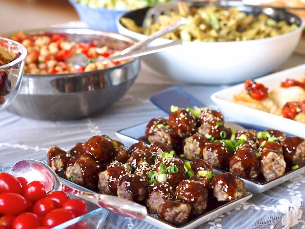 Maukkaat aasialaiset lihapullat