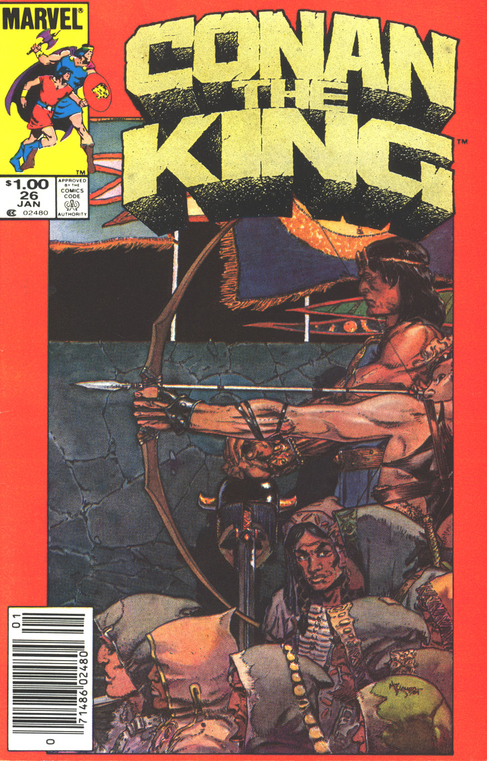 Conan the King 26 Page 1