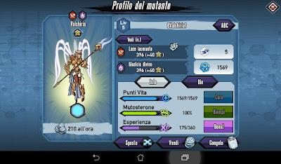 Mutants: Genetic Gladiators Breeding video N°39 (Warrior - Demon)