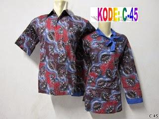Foto Model Baju Batik Seragam Kerja
