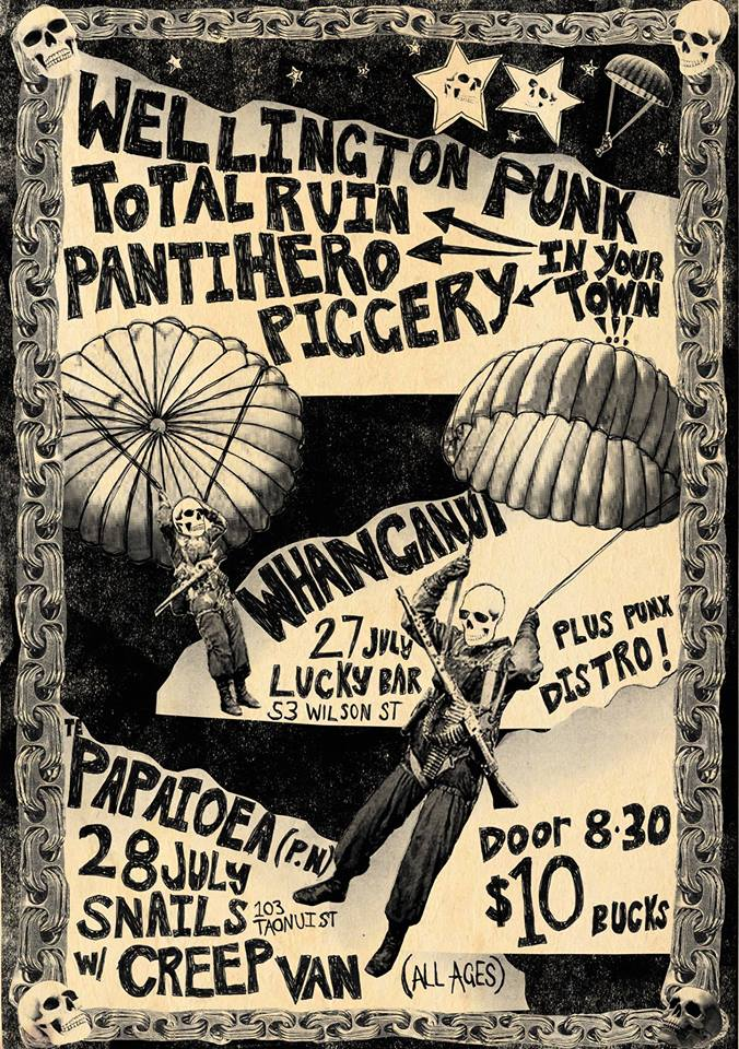 Provinical Punk Party Whanganui