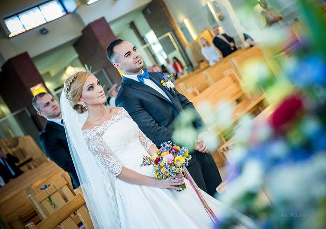 Ślub w stylu folk, stylizacja.