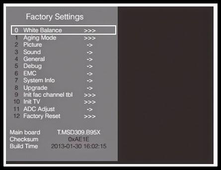 FUNAI - 32FL553P-10 32FL553-10 - LED-LCD TV - SERVICE MODE