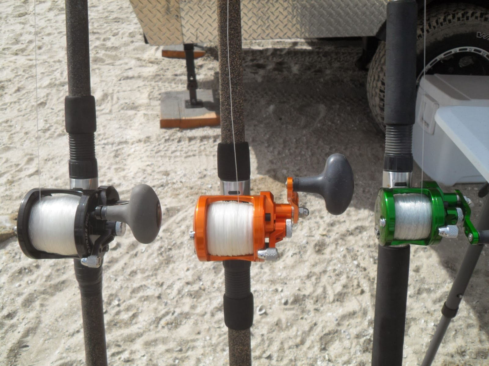 Team Shade Hats Fishing Avet Reel Comparison