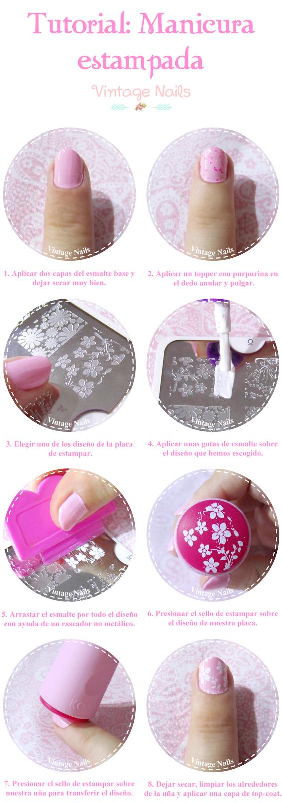 nail art, manicura, rosa, manicure, moyou, stamping nails, konad