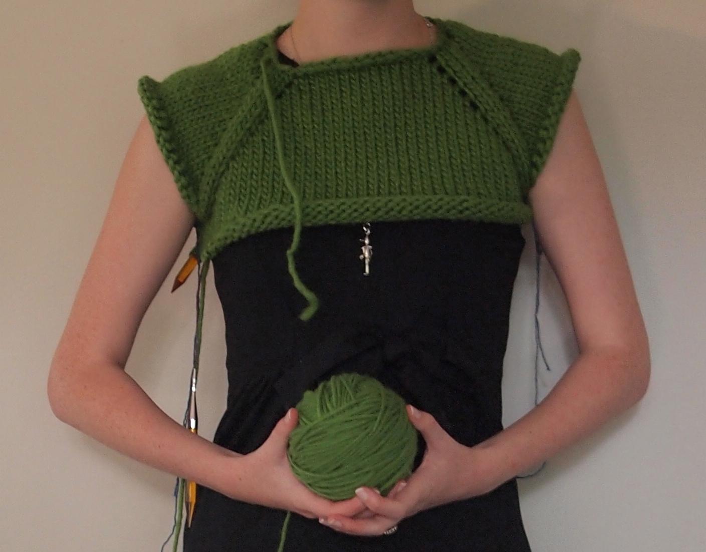 I'm a top-down knitting convert