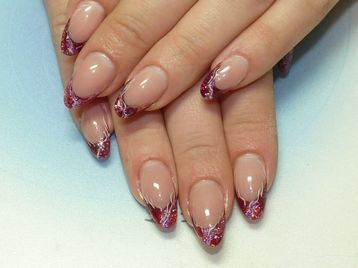 ACRYLIC NAILS: Gel Nails - Fimo Nail Art - To Acrylic Nails