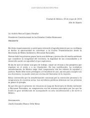 Otra renuncia del gabinete de AMLO
