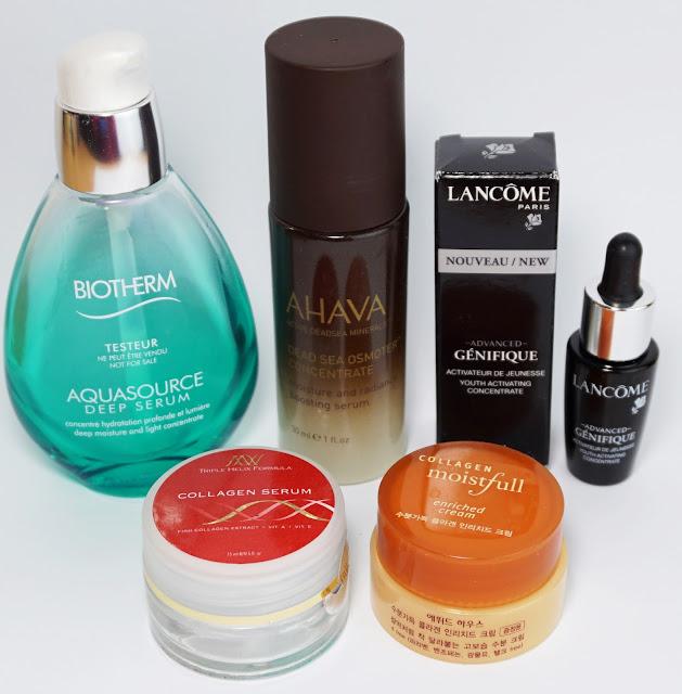 Aufgebrauchte Kosmetik - Januar 2016 (Gesicht) Biotherm, AHAVA, Lancome