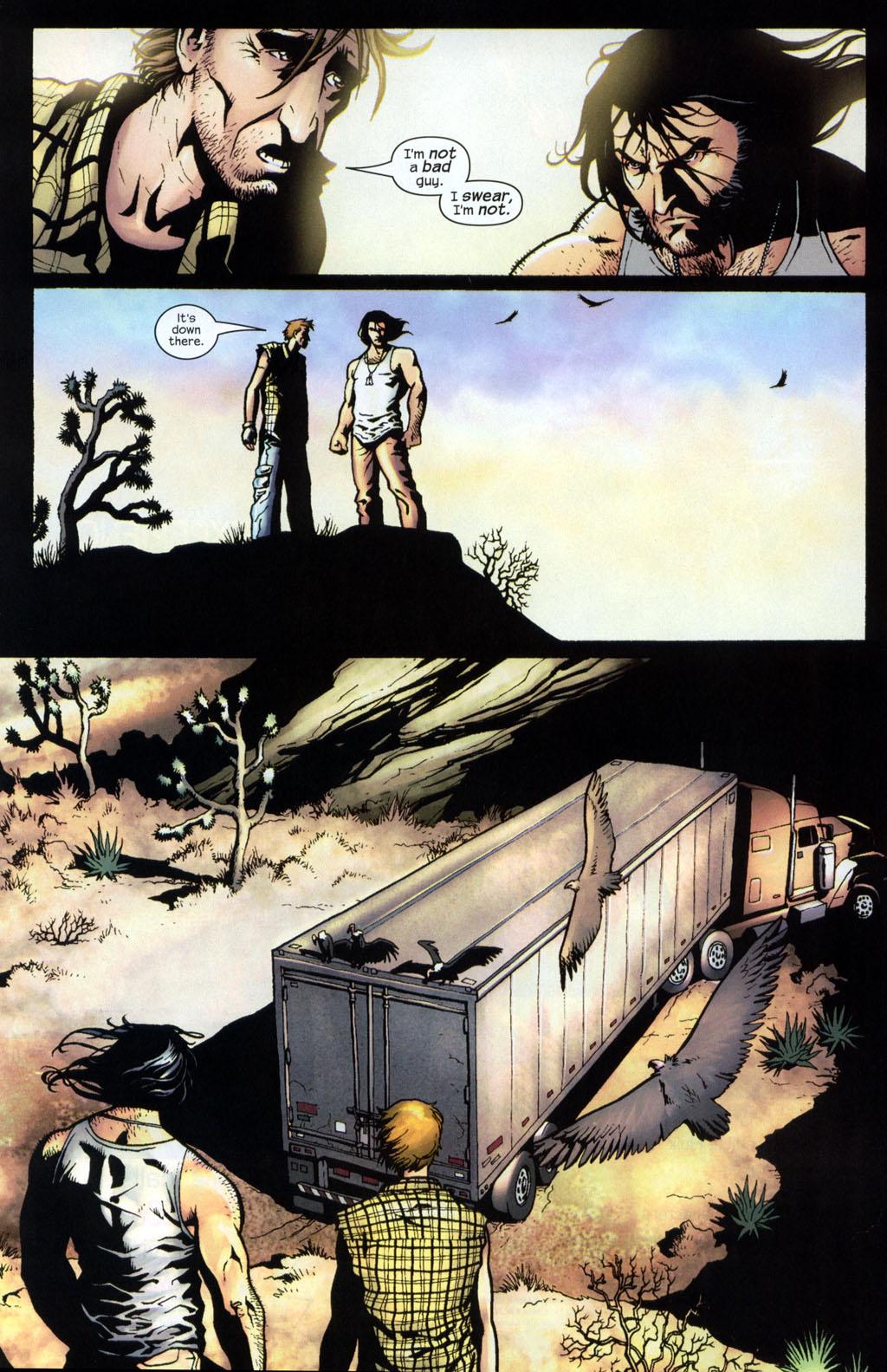 Read online Wolverine (2003) comic -  Issue #7 - 11