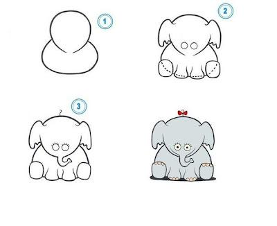 слон, слонёнок