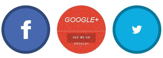 Add a flap social media buttons widget to blogger