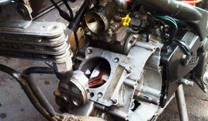 Tips dan Cara Pasang Noken As atau Timing Gear Satria FU