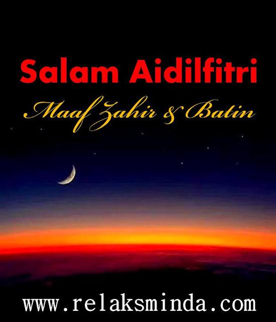Salam Hari Raya Aidilfitri 1436H/2015