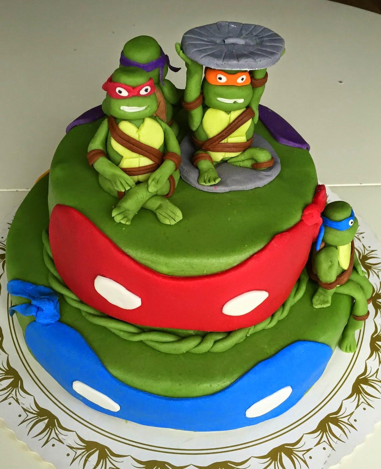 Ninja Turtlestårta
