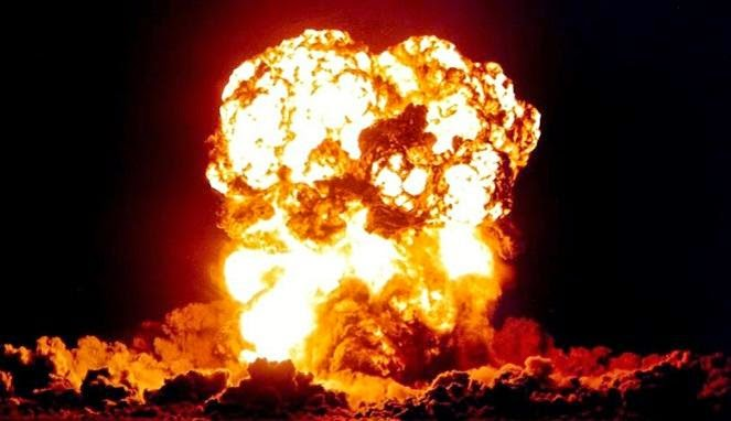 ledakan nulir,bom atom,ledakan bom atom