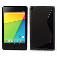 TPU Jelly Case for ASUS Google Nexus 7 2 ii - Black