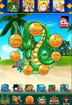 game ngọc rồng mobile
