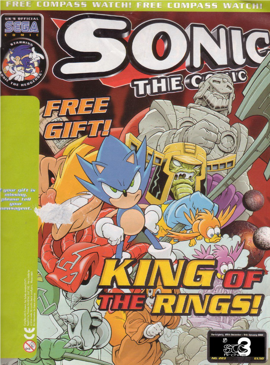 The cover of the final issue, #223 which reprinted the Drakon Empire story arc