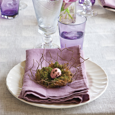 Easter is the perfect opportunity to arrange a lovely outdoor gourmet ...