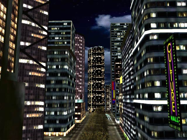 Desktop Wallpaper City Night. 2011 wallpaper city night.