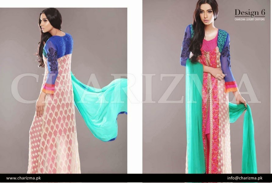 Charizma Formal Eid Chiffon Collection