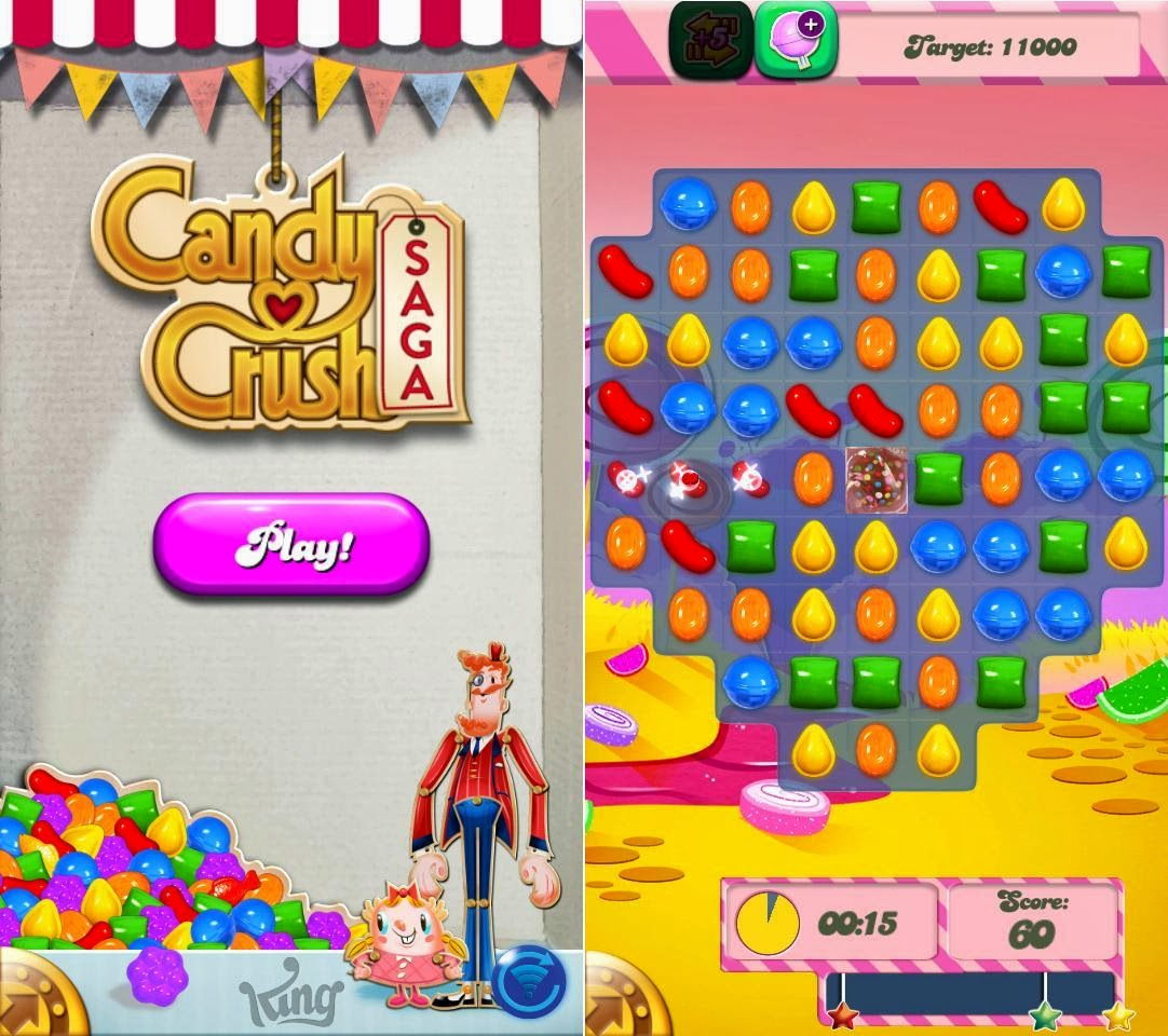 DTC Mobile GT17 Jupiter Candy Crush Saga