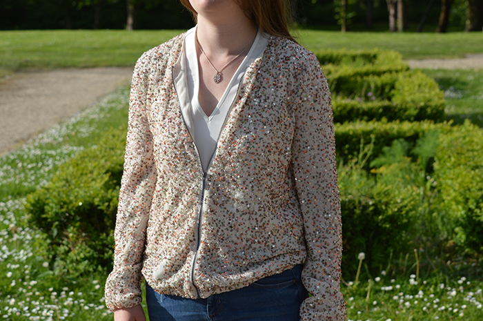 zara sequin summer jacket fashion bloggers