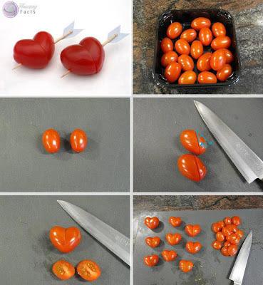 Coração de tomate cereja