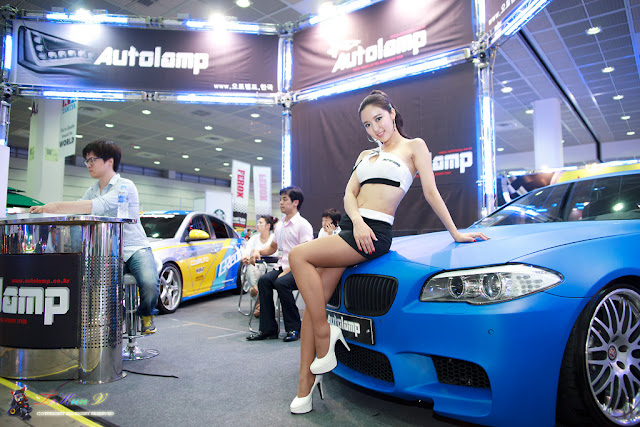 7 Yoon Joo Ha - Seoul Auto Salon 2012-Very cute asian girl - girlcute4u.blogspot.com