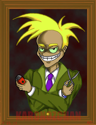 Courage the cowardly dog wallpaper fred - photo#27