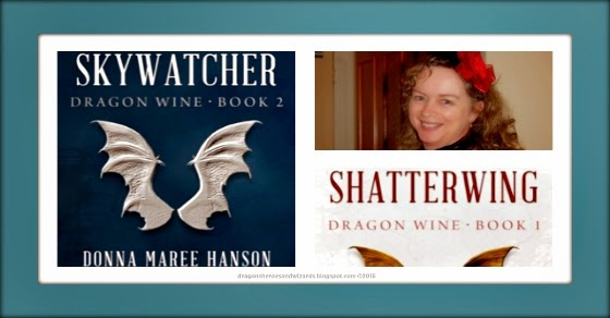 Skywatcher (Dragon Wine 2) by Donna Maree Hanson | Science Fantasy Book Review