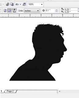 Cara Membuat Silhouette / Siluet Di Coreldraw
