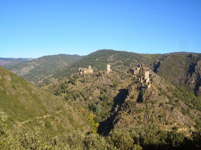 Chateaux de Lastours, Aude, Pays Cathare, France, Ruta Càtara