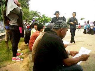 Masyarakat Saijaan Tuntut Pengembalian Pulau Larilarian