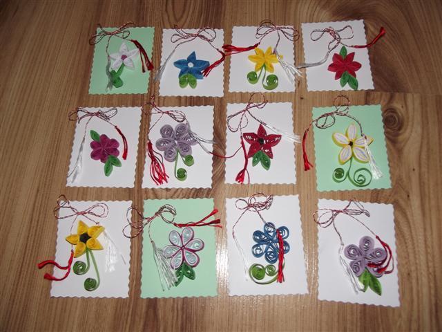 Felicitari handmade (realizate manual)