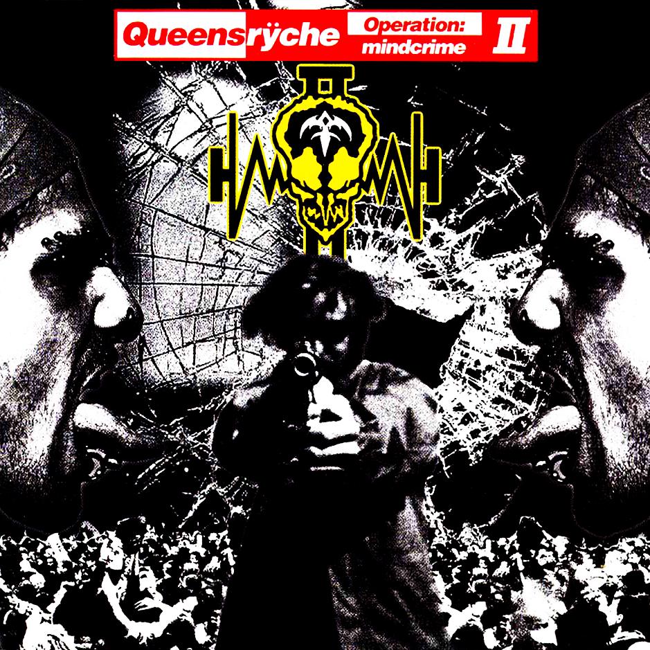 Queensryche Operation Mindcrime 2 Album Artwork: Queensr...