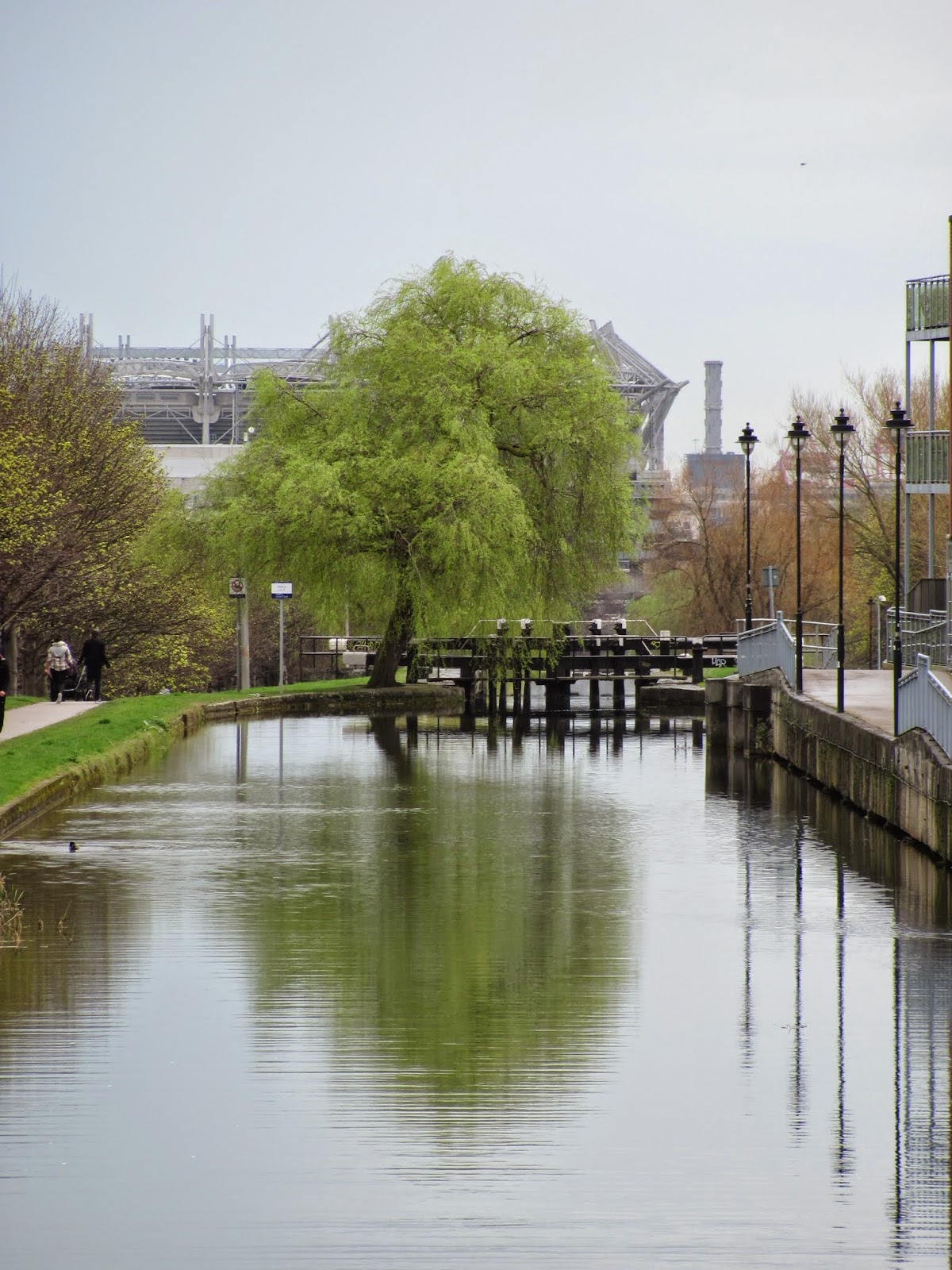 The Royal Canal and Croke Park Dublin
