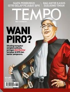 cover majalah berita mingguan tempo