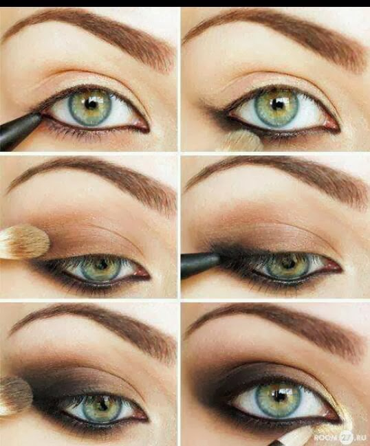 Smokey eyes marrone tutorial