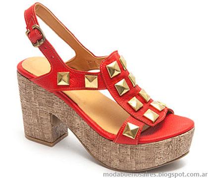 Sandalias verano 2015 Traza calzados.