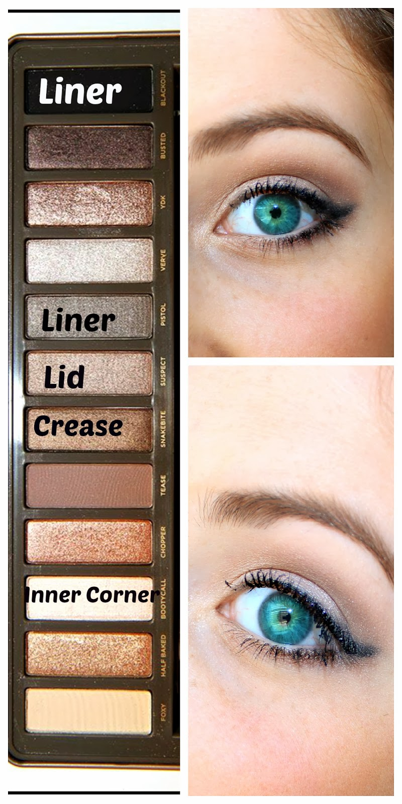 Urban Decay Naked Smoky Tutorial| Simple and great for