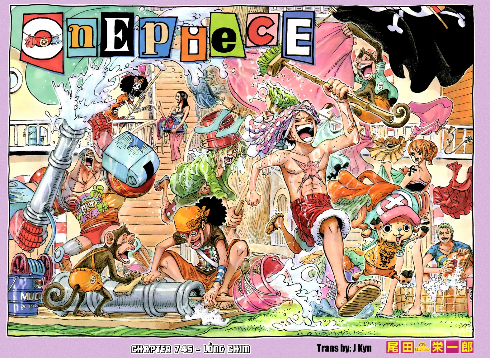 One Piece Chapter 745: Lồng chim 001