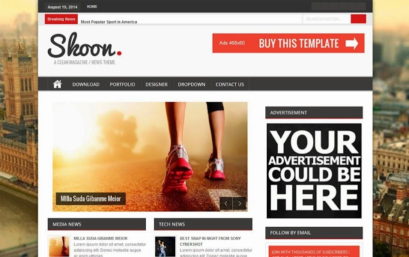 Best Free Responsive Blogger Templates for 2018